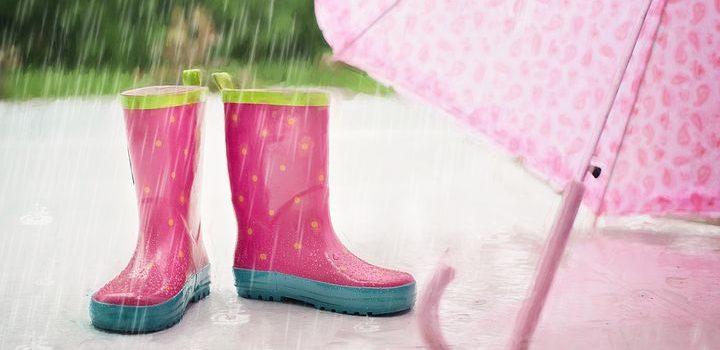 梅雨時期も雨の日も、安心です