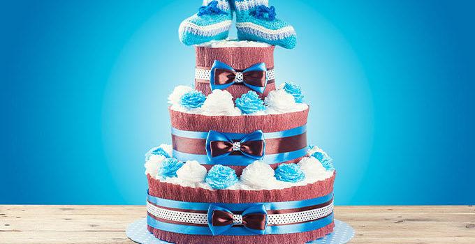 おむつケーキに関する記事を監修しました