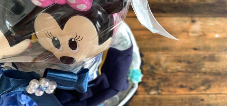 ミッキーマウスおむつケーキ